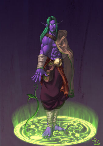 Datei:Young Malfurion Stormrage by pulyx.jpg