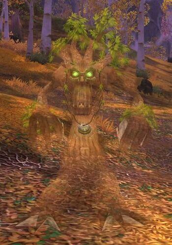 Angry Oak Spirit