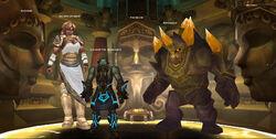 Halls of Stone bosses