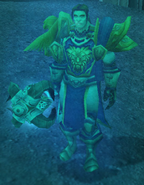 Fallen Hero's Spirit Human Male
