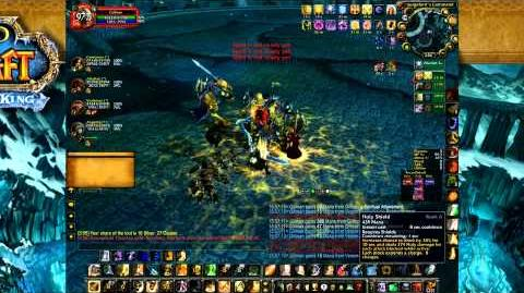 Paladin Tanking Heroic Pit of Saron - World of Warcraft