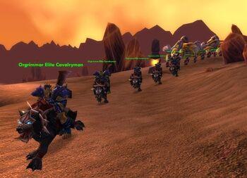 Orgrimmar Elite Cavalryman