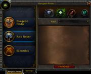 Dungeon Finder window Raid Finder 5 0 5 16057