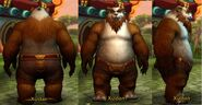 Male Pandaren Red Naked