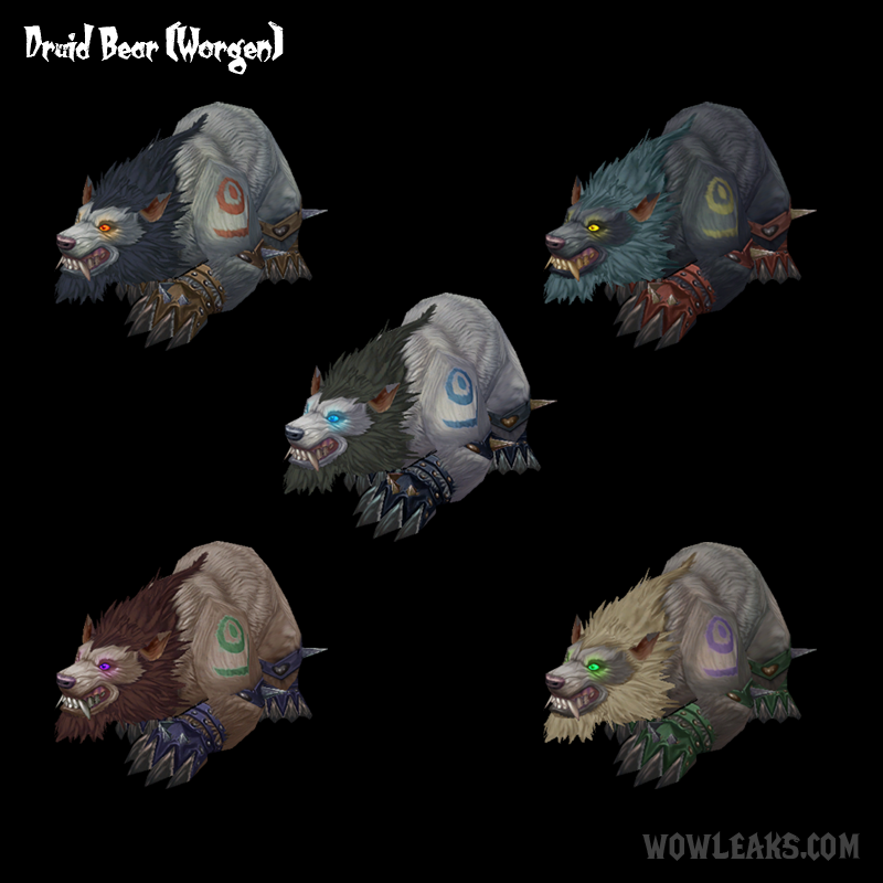Wotlk Druid Bear Build