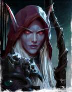 Sylvanas concept art for Legion
