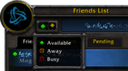 Patch 5 1-Socials-Friends List-Friends subtab-availability dropmenu