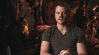 """Warcraft Rob Kazinsky """"Orgrim"""" Behind the Scenes Movie Interview"""