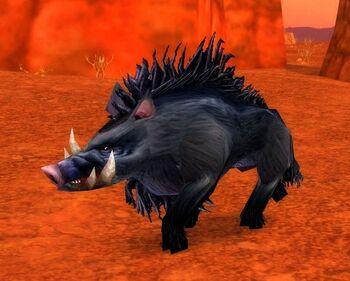 Corrupted Mottled Boar