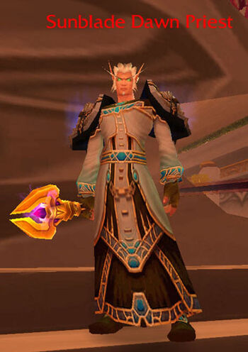 Sunblade Dawn Priest