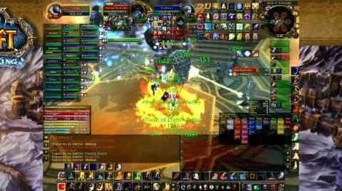 Paladin Tanking Toravon the Ice Watcher - Vault of Archavon - World of Warcraft