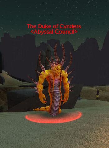 Duke of Cynders