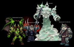 Shadow Labyrinth bosses