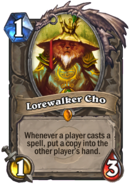 Lorewalker ChoHearthstone