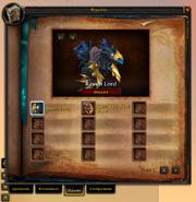 Spellbook & Abilities-Mounts tab
