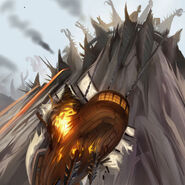 Daggercap attack art