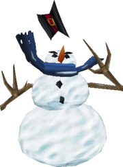 SnowmanExclaim