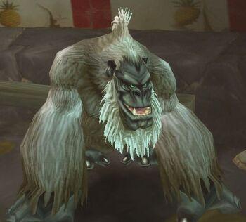 Enraged Silverback Gorilla