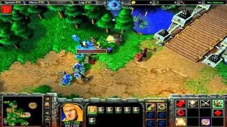 Warcraft III-Reign of Chaos-The Defense of Strahnbrad