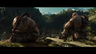 Warcraft The Beginning - Durotan & Orgrim discuss (Universal Pictures)