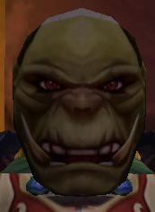 Flimsy Male Orc Mask