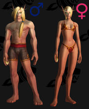 Blood elf appearance