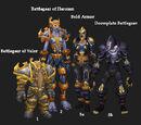 Warrior sets