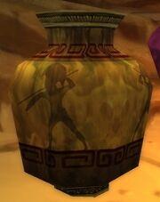 Carved Stone Urn