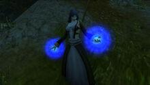 Female Rogue Wizard in Elwynn Forest
