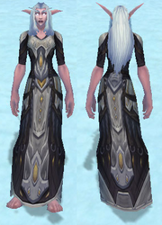 Conqueror's Robe of Sanctification, Snow Background, NE Female