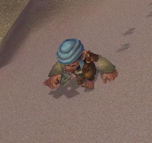 Cavorting Pygmy