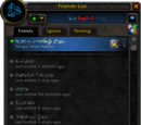 Friends List
