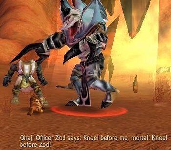 Qiraji Officer Zod