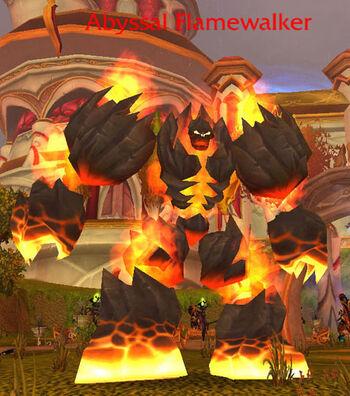 Abyssal Flamewalker