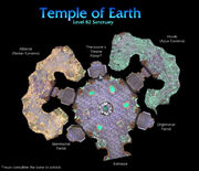 Temple of Earth map