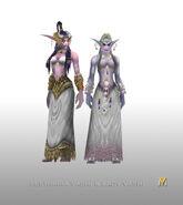 Lestharia Vashj and Lady Vashj