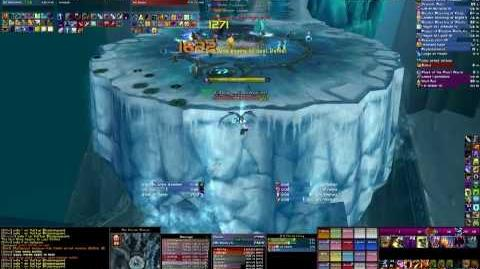 Guild Cuties Only Icecrown Citadel Live 25 Hard Mode Lich King Warlock Perspective part 1