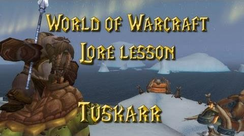 World of Warcraft lore lesson 59 Tuskarr