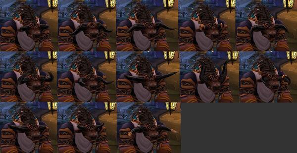 Tauren horn styles