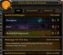 Guild Challenges