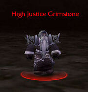 High Justice Grimstone