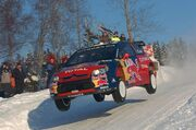 Loeb rally norway 2009