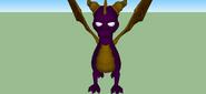 Dark Spyro sketchup