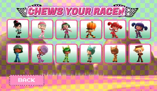 Sugar Rush Superraceway- character select