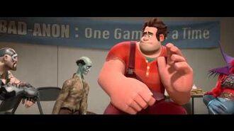 Vilde Rolf (Wreck-It Ralph Danish Trailer) -- Official Disney Movie HD