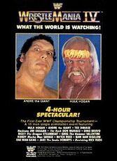 WWE Wrestlemania 4