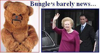 Bungles barely news thatcher