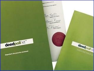 Deedpoll