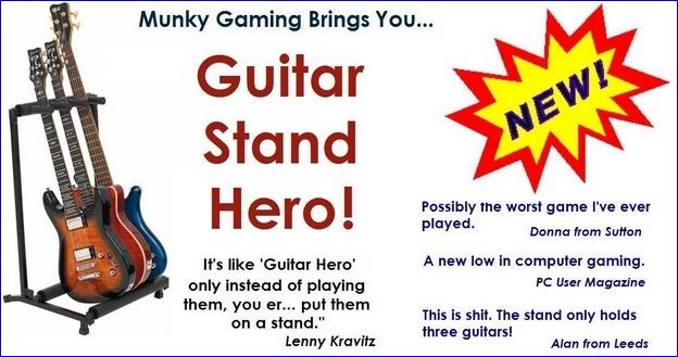 Guitar stand hero
