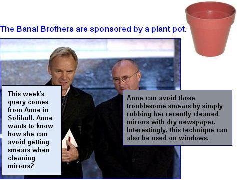 Banal brothers smear